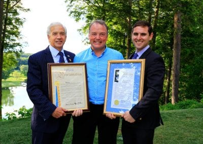 Lord Iveagh and The Iveagh Trust recognised by State and County